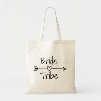 Sacs fourre-tout à tribu de jeune mariée pour