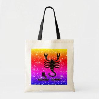Sacs fourre-tout modernes à zodiaque de Scorpion