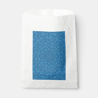 Sacs vintages bleus décoratifs   de faveur de