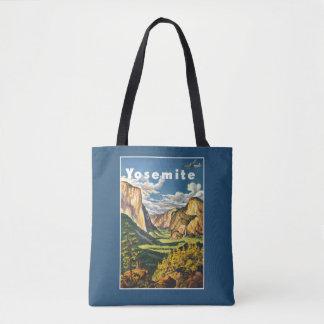 Sacs vintages de Yosemite Etats-Unis de voyage