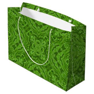 Sacs vintages verts allants de cadeau de