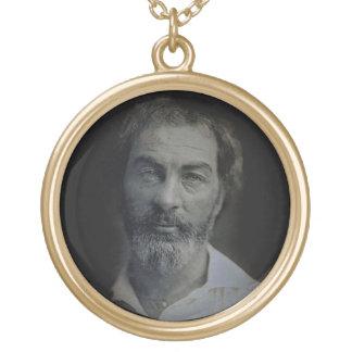 Sagesse dans vos yeux - pendentif de Walt Whitman