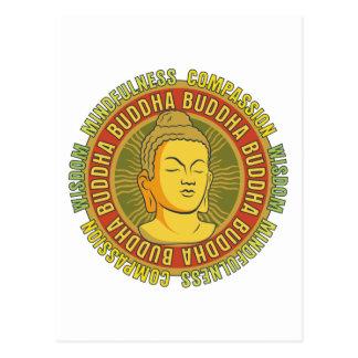 Sagesse de Bouddha Carte Postale