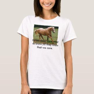 Sagesse de cheval t-shirt