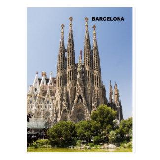 Sagrada Familia Barcelone Espagne Cartes Postales