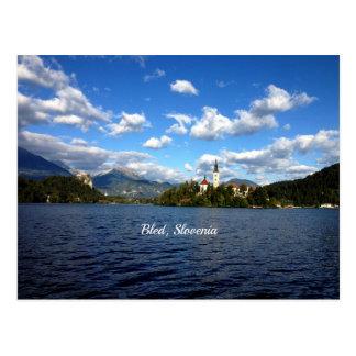 Saigné, la Slovénie--photographie de paysage Carte Postale