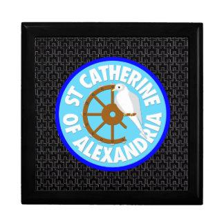 Saint Catherine de l'Alexandrie Boîte À Souvenirs