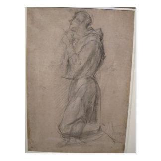 Saint Francis de Jacopo Pontormo- Carte Postale
