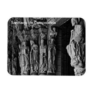 Saint-Jacques-de-Compostelle - Portico de la Glori Magnet Souple