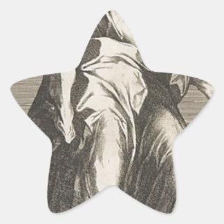 Saint Judas (ou saint Matthias) Sticker Étoile