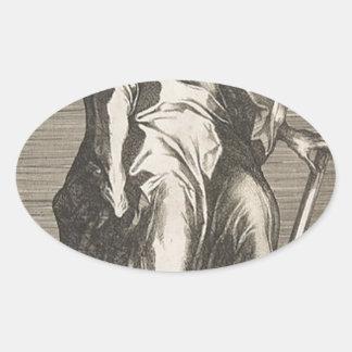 Saint Judas (ou saint Matthias) Sticker Ovale