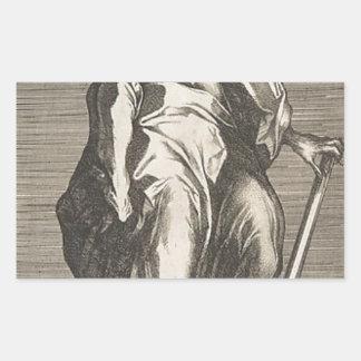 Saint Judas (ou saint Matthias) Sticker Rectangulaire