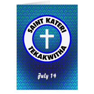 Saint Kateri Tekakwitha Carte