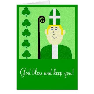 Saint Patrick Carte De Vœux
