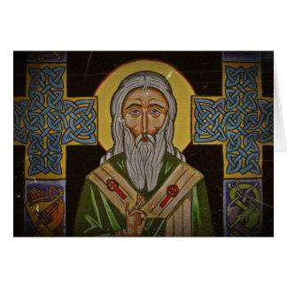 Saint Patrick de croix celtique Carte