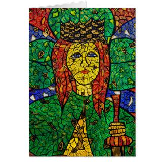Saint patron de St Dymphna de dépression et Carte