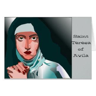 Saint Theresa Carte