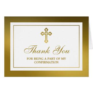 Sainte communion ou confirmation métallique de carte de vœux
