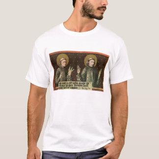 Saints Anthony de Padoue et Francis d'Assisi T-shirt