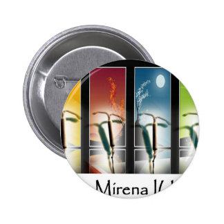Saisons de Mirena IUD-Four d'interdiction Badge Rond 5 Cm