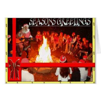 Saisons Geetings Carte
