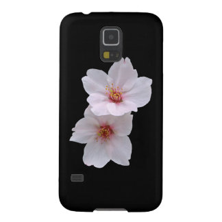 Sakura op Zwarte Galaxy S5 Hoesje