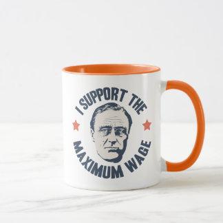 Salaire maximum de FDR Mug