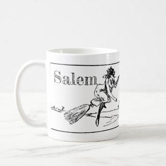 Salem le Massachusetts, sorcières dans la tasse