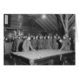 Salle de billard de la guerre mondiale 1 YMCA, les Carte