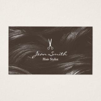 Salon de coiffure bronzage professionnel de carte de visite standard