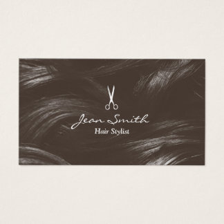 Salon de coiffure bronzage professionnel de cartes de visite