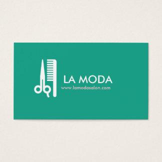Salon de coiffure/styliste modernes du carte de