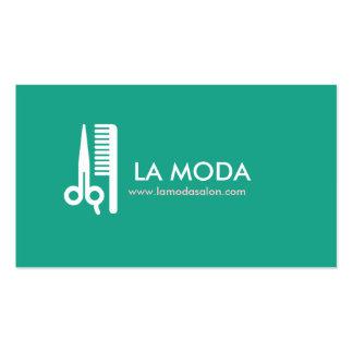 Salon de coiffure/styliste modernes du carte de vi carte de visite standard