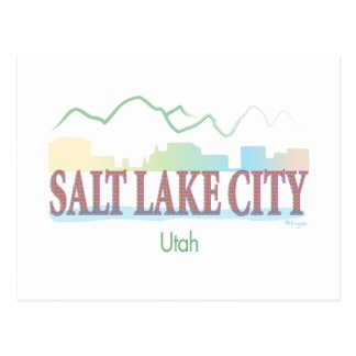 Salt Lake City, Utah Carte Postale