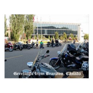 Salutations de Brandon, Canada ! Cartes Postales