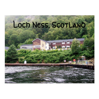 Salutations de Loch Ness Carte Postale