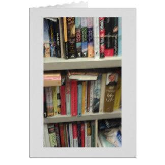 Salutations de retraite de bibliothécaire carte de vœux