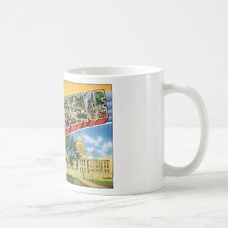 Salutations de voyage de Providence RI_Vintage Mug