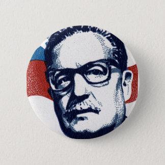 Salvador Allende - Venceremos Badge Rond 5 Cm