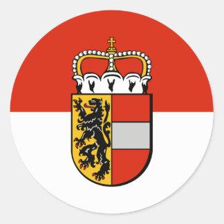 Salzbourg, Autriche Sticker Rond