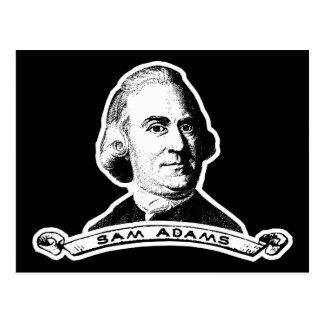 Sam Adams Carte Postale