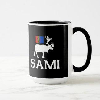 Sami, les personnes de la tasse de huit saisons