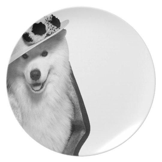 Samoyed Plate Assiettes En Mélamine