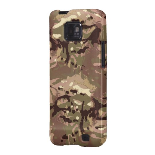 Samsung Galaxy SII Case Camo Camo, pourquoi mille d'art ? Conception de