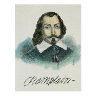 Samuel de Champlain Carte Postale