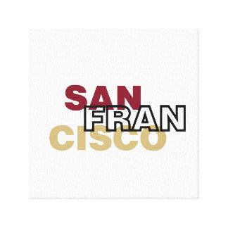 San Francisco a enveloppé la toile