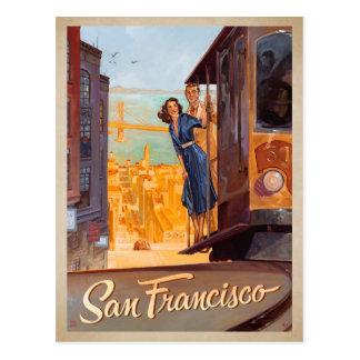 San Francisco, CA - Karretje Briefkaart