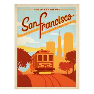 cartes postales vintages de San Francisco