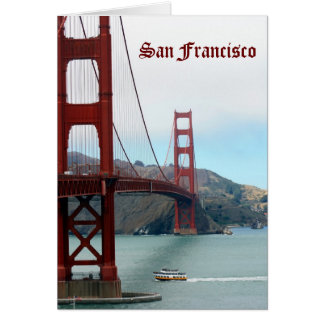 San Francisco Carte