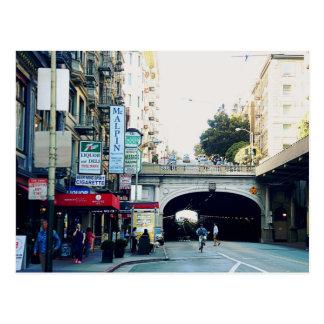 San Francisco : Tunnels Carte Postale